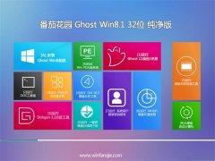 番茄花园Ghost Win8.1 32位 电脑城纯净版 2021.04