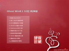 通用系统Windows8.1 多驱动纯净版32位 2021.04